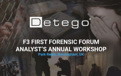 MCMS are exhibiting at the First Forensic Forum Analyst's Annual Workshop 2019 (F3)